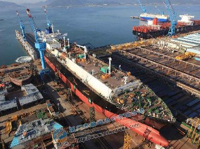 Everything is ready, the Korean shipbuilding industry recove
