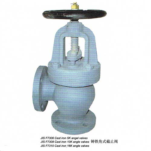 Cast Iron Angle Valves(JIS F7306/F7308/F7310)