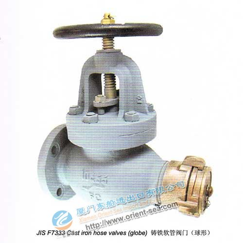 Cast Iron Host Valves(Globle Type)(JIS F3333)
