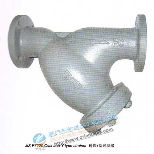 Cast Iron Y Type Strainer(JIS F7220)